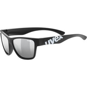 UVEX Sportstyle 508 Lunettes de sport Enfant, black mat/silver